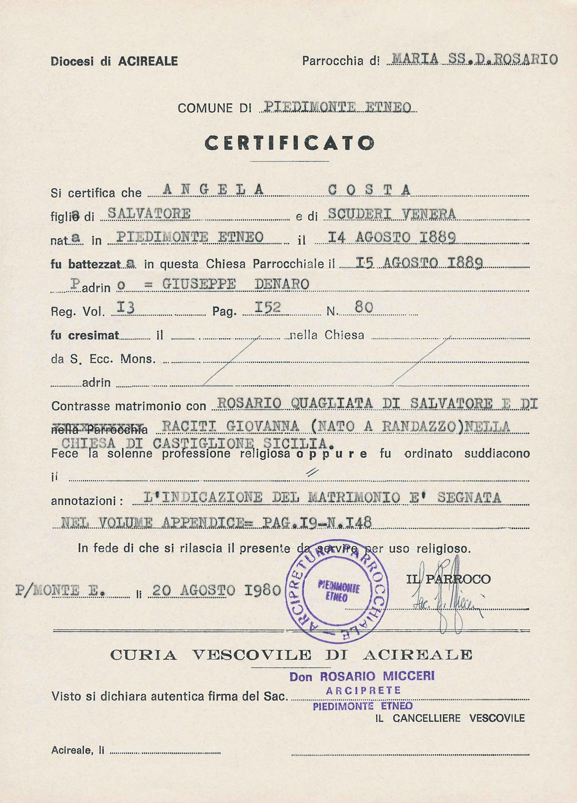 100 Birth Certificate Capital Letters Paragraph