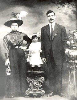 Anna Jennie & Rosario Quagliata 1912