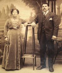 Carmela and Carmelo Quagliata c.1910 (?)
