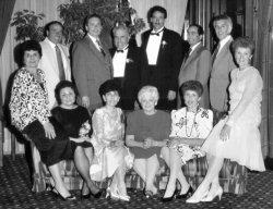 Mario & Josephine Quagliata and their children with their children's spouses  c.1987