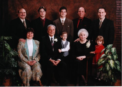 Joseph & Ann Quagliata and Family on their 50th Anniversary  c.2001